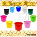 10 Baldes de Pipoca e Lembrancinhas 1,5 Litros - Lilas