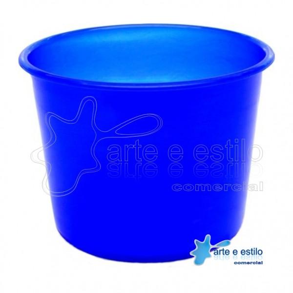 10 Baldes de Pipoca e Lembrancinhas 1,5 Litros - Azul Royal