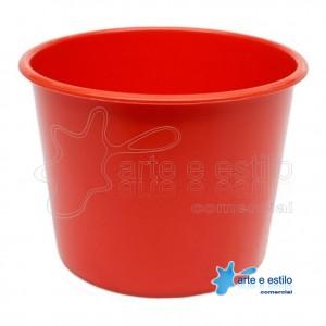 10 Baldes de Pipoca e Lembrancinhas 1,5 Litros - Vermelho