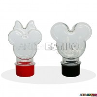 "10 Mini Baleiros Mouse ""P"" c/ tampa Só R$0,69 cada"