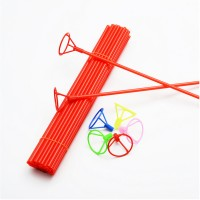 Varetas Pega Balão de mão com p/ balão Metalizado emb com 5 unidades - Escolha a cor