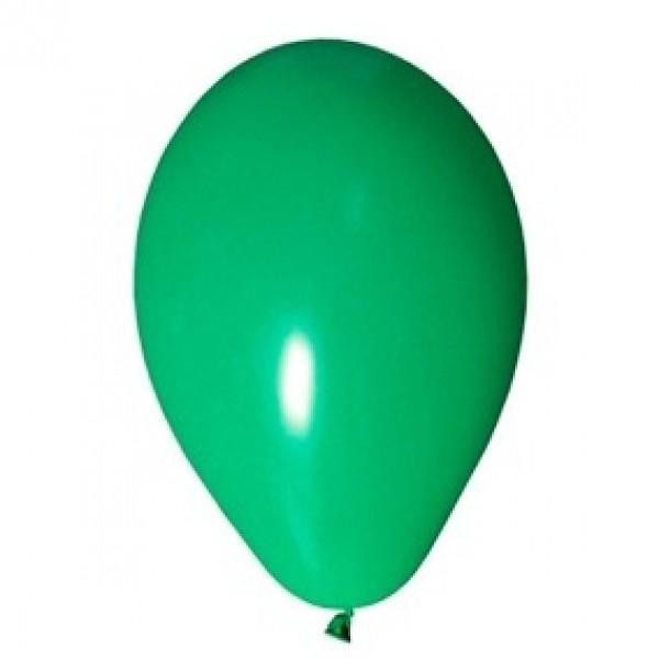 Balão / Bexiga 9 polegadas Happy Day Liso Emb. c/ 30 unid. - Verde Escuro