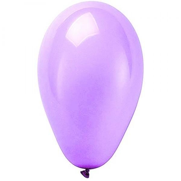 Balão / Bexiga 9 polegadas Happy Day Liso Emb. c/ 30 unid. - Lilas