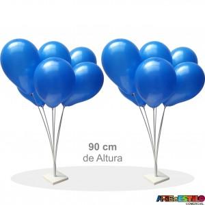 02 Suportes base de mesa para Balões com 6 varetas - Só R$21,90 cada