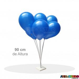 Suporte base de mesa para Balões com 6 varetas - Só R$19,90