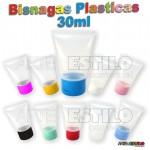 50 Bisnagas Plásticas Tampa Flip top em diversas Cores - Só R$0,75