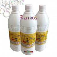 3 Litros de Refil liquido para Bolhas de Sabão Super Bubble