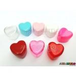 10 Caixinhas Coração em Acrílico 4x4 - Só R$0,49 cada