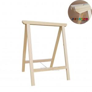 01 Cavalete Studio de Madeira para mesa - 50x80 cm