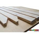 02 Cavaletes de Madeira para mesa, bancada, aparador, mesa de festa - 50X100cm
