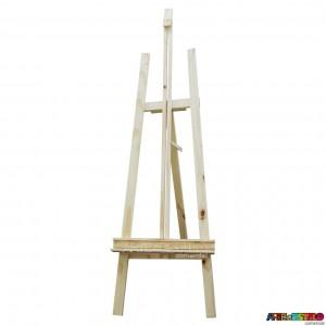 Cavalete de Chão p/ Pintura e Exposição c/ Regulagem de Altura - Modelo 1 - 170X50