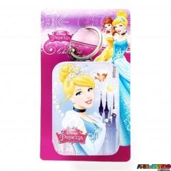 14f0b86f4ba01 Chaveiro Cinderela Disney de Metal Licenciado modelo Retangular Latinha