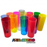 10 Copos Long Drink 350ml
