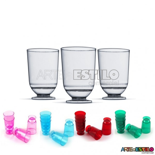 10 Tacinhas 50ml para Brigadeiro, Licor e Lembrancinhas - PIT-050
