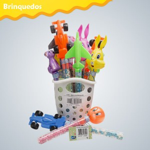 Display expositor com 15 Brinquedos com Mini balas