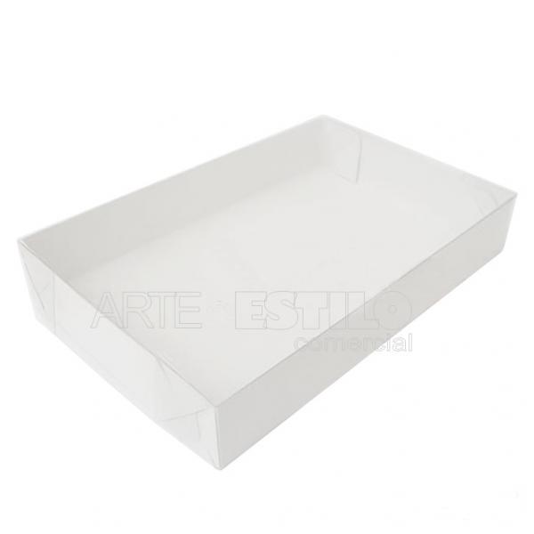 50 Caixas de Acetato 12X8X3 cm para 6 doces