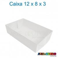 50 Caixas de Acetato 12X8X3 cm
