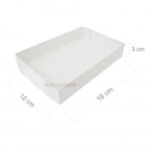 25 Caixas de Acetato 18X12X3 cm