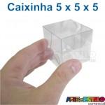 50 Caixas de Acetato 5 X 5 X 5 cm - Só R$0,39 cada