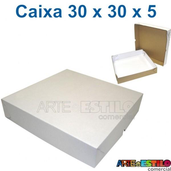 25 Caixas de papelão 30 x 30 x 5cm - R$2,96 cada