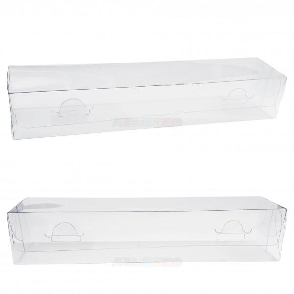 25 Caixas de acetato 20X4,5X3,5 cm