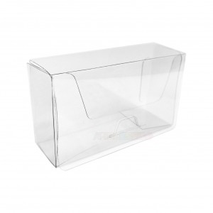 25 Caixas acetato transparente para cartão de visita - Medidas 10x6x3