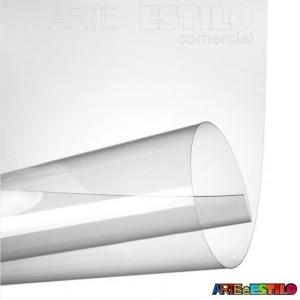 100 Folhas de acetato Transparente - 20x30 Cm espessura espessura 0,20 mm