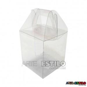 25 Maletinhas de Acetato 9x6,5x4cm para embalagem em geral e lembrancinhas - Só R$0,69 cada !!!