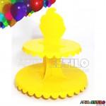 Expositor Suporte com 02 Andares para Cupcakes Docinhos e Lembrancinhas