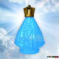 30 Garrafinhas Azul de Nossa Senhora Aparecida 45 ml c/ tampa Corôa - Só R$1,19 cada