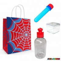 20 Kits de Lembrancinhas Homem Aranha