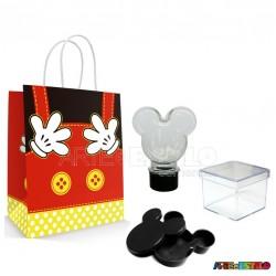 20 Kits de Lembrancinhas Mickey cor Preta