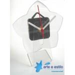 10 Kits de relógios modelo estrela para Mesa + Caixa para embalagem
