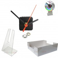 100 Kits p/ Relógios de cd + Caixa p/ embalagem