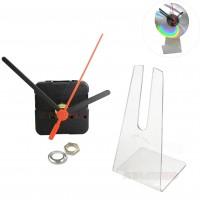 100 Kits para Relógios de cd com suporte universal Branco, Preto ou Transparente