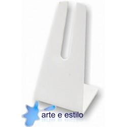 10 Suportes de uso universal para Cd, Placas e afins cor Brancos R$1,00