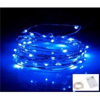 Luz De Fada Micro fio de Led cor Azul - 2,2 Metros