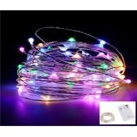 Luz De Fada Micro fio de Led cor Colorido - 2,2 Metros
