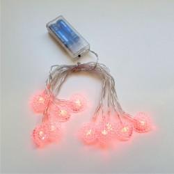 a374207d7c8d1 Cordão de Luz Lampadas Coração - 10 Lampadas