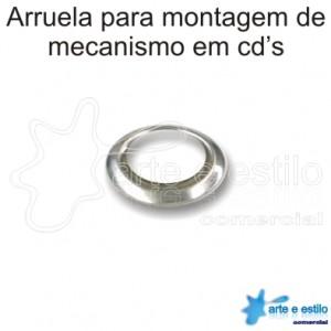 20 Arruelas para montagem de mecanismo em cd's