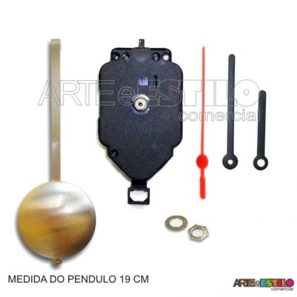 Máquina de pêndulo Dourado eixo 17 - 01 unidade