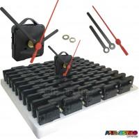 PROMOÇÃO - 100 Máquinas Continuas p/ relógios Eixo 13 (5,5mm rosca) Com alça 1,99 cada