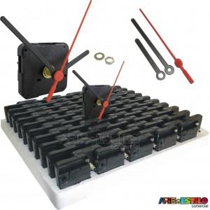 50 Máquinas de relógio CONTINUAS eixo 13 (5,5 mm de rosca) Sem alça R$1,99 cada