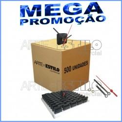71eb052c829 MEGA PROMOÇÃO - 500 Máquinas de relógio QUARTZ (Tic-Tac) eixo 13 (