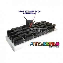 Emb c/ 20 Máquinas de relogio Continua eixo 13 (5,5 mm de rosca) Sem alça