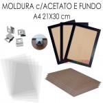 10 Molduras Prontas A4 - 20x30
