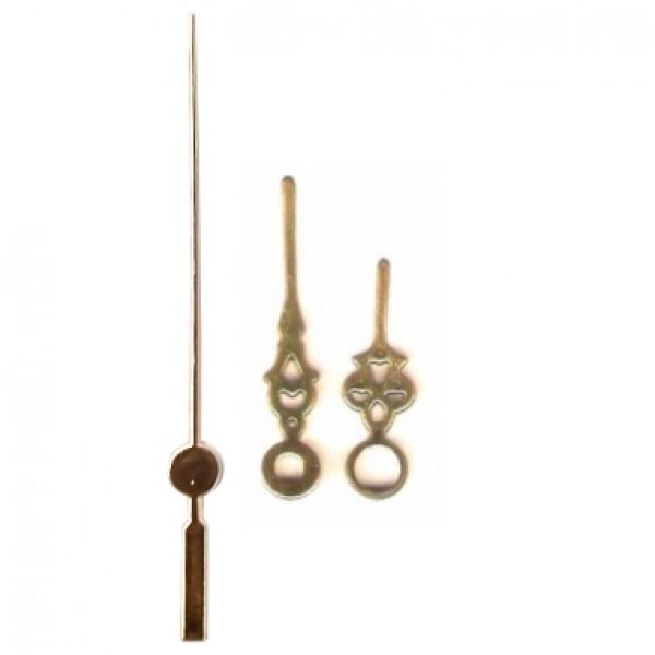 10 jogos de ponteiros Colonial Pequeno (3,0 cm) - Dourado - Prata