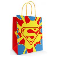 10 Sacolas Super Heroi - 18x09x22 cm