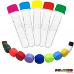 50 Tubetes com tampa, preformas, tubo de ensaio 13cm só R$0,49 cada