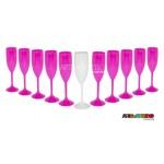 11 Taças de Acrílico para Dia da Noiva ou Despedida de Solteira 160ml -  Só R$1,89 cada